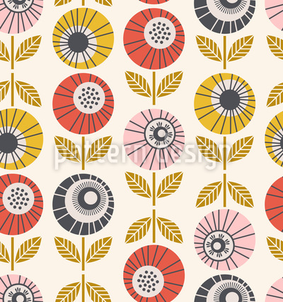 Blütenaugen Vektor Design