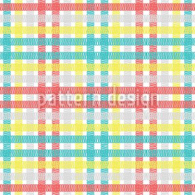 Funky Tartan Muster Design