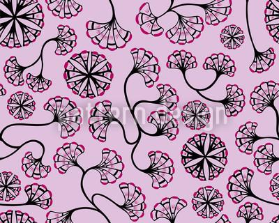 Boheme Hanoi Romance Vector Pattern