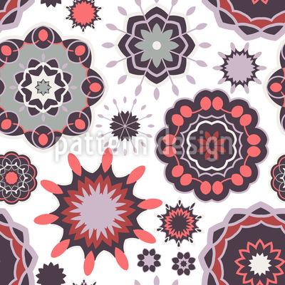 Mandala-Explosion Musterdesign