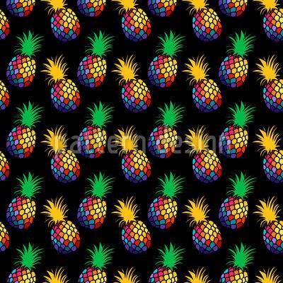 Tanzende Ananas Designmuster