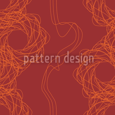 Abstrakte Linien Rapportiertes Design