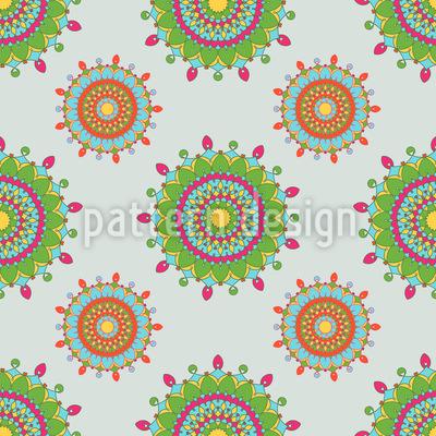 Orient Style Seamless Vector Pattern Design