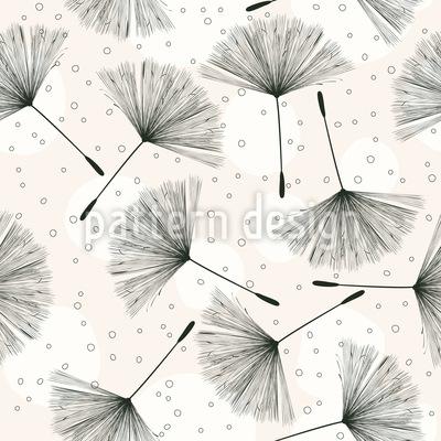 Pusteblumen fliegen Rapportiertes Design