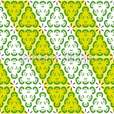 Diagonal und Frisch Vektor Ornament