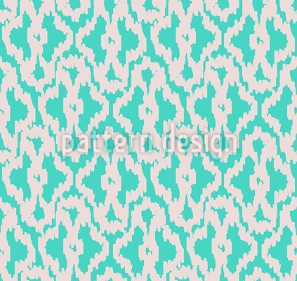 Indonesian Ikat Seamless Vector Pattern Design