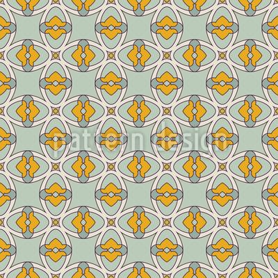 Elegantes dekoratives Gitter Nahtloses Vektormuster