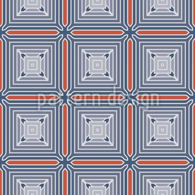 Steampunk Tiles Seamless Vector Pattern Design