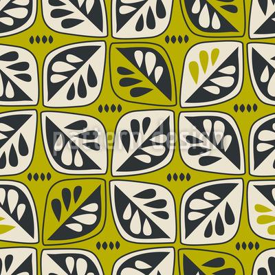 Vintage-Blätter Designmuster