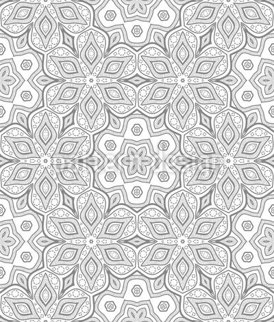 Filigrane Anordnung Muster Design