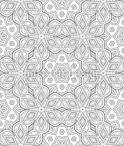 Filigree Arrangement Pattern Design