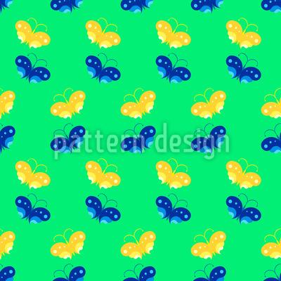 Schmetterlingspaare Musterdesign
