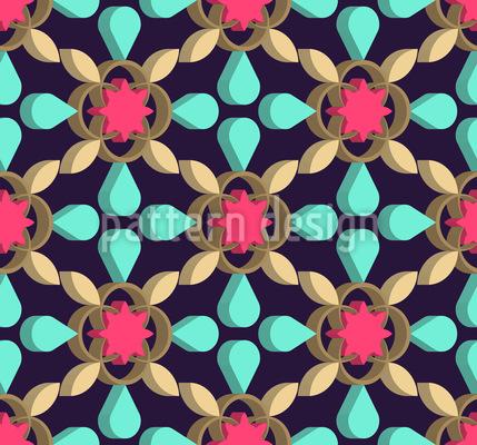 Geometrische Zeichnung Vektor Muster