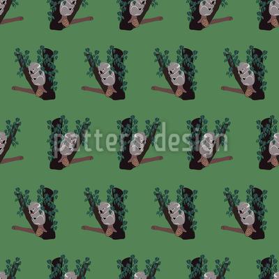 Schlummer-Koala Vektor Ornament