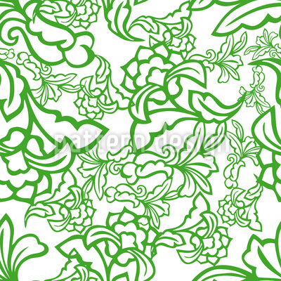 Oriental Tendrillars Design Pattern