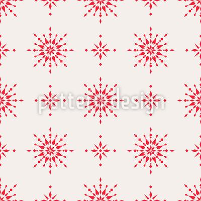 Skandinavischer Advent Nahtloses Muster