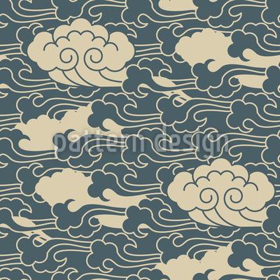 Weiche Wolkenfront Vektor Design