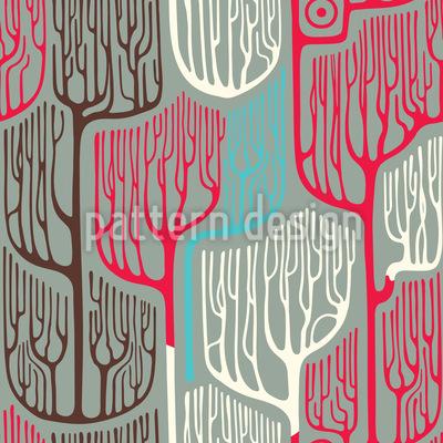 Verwunschener Wald Muster Design