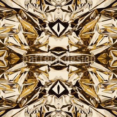 Goldrausch Nahtloses Muster