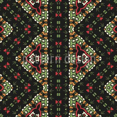 Jungel Bordüre Muster Design