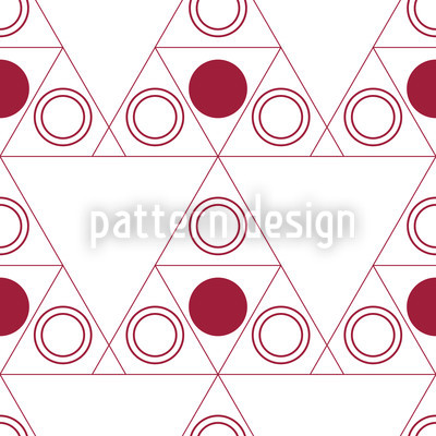 Triple Dot Red Pattern Design