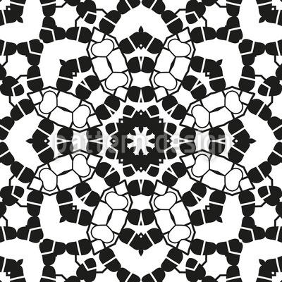 Doily Seamless Pattern