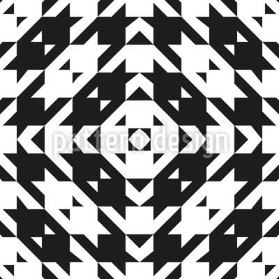 Houndstooth Tile Vector Design