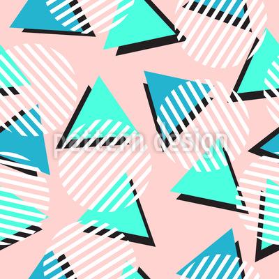 Hipster Memphis Seamless Vector Pattern Design