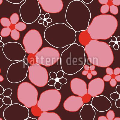 Kirschblüte Vektor Ornament
