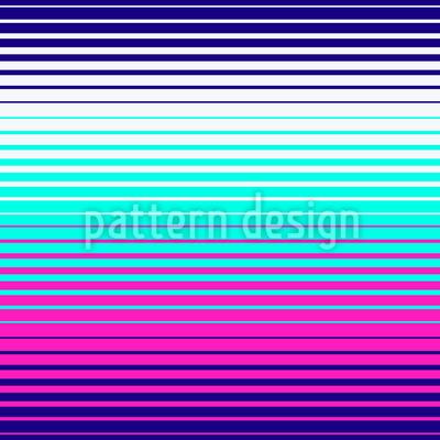 Neon-Geometrie-Streifen Rapport