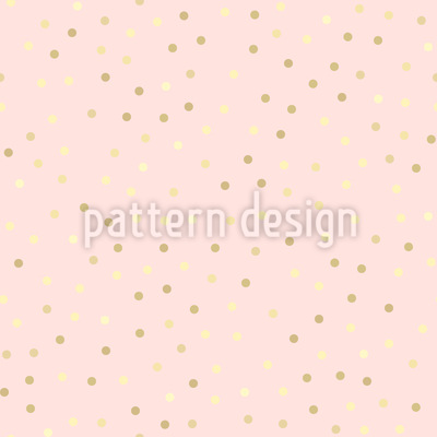 Shiny Dots Seamless Vector Pattern Design