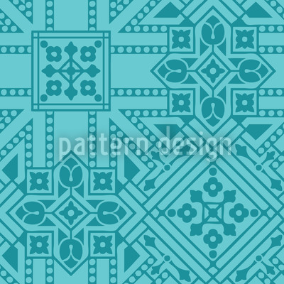 Persepolis Dream Seamless Vector Pattern Design