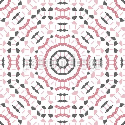 Fragmentiertes Mosaik Muster Design