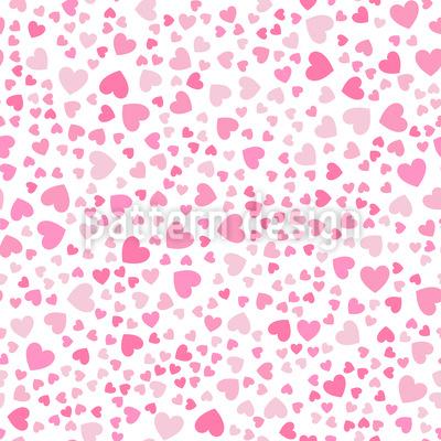 Mini-Herzen Muster Design