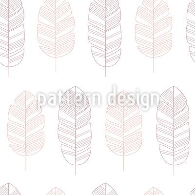 Zarte Blatt Silhouetten Vektor Design