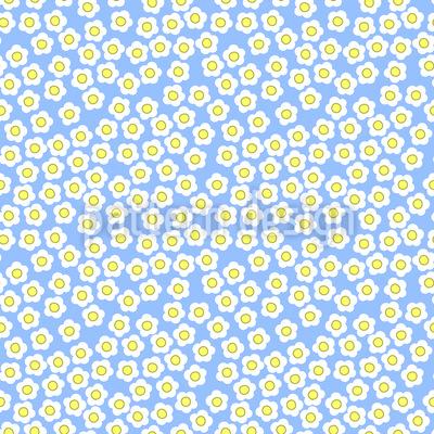 Tausend Gänseblümchen Rapportmuster