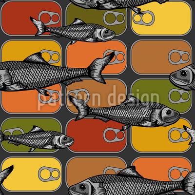 Sardinen Liebe Vektor Design