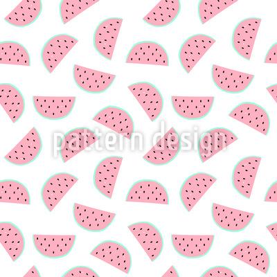 Wassermelonen Stücke Rapportmuster
