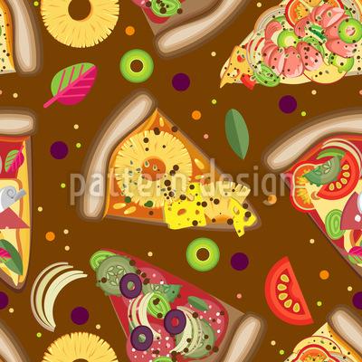 Pizza Himmel Vektor Design