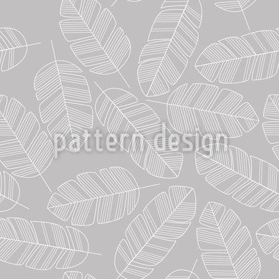 Federn oder Blätter fallen Nahtloses Vektor Muster