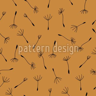 Herbstlicher Löwenzahn Vektor Muster