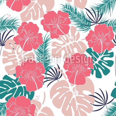 Tropischer Wald Muster Design