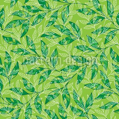 Blätternetz Rapportmuster