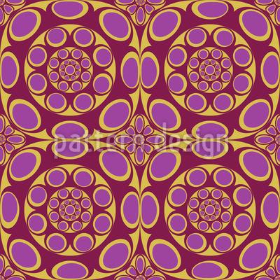 Magic Cogumelos Design de padrão vetorial sem costura