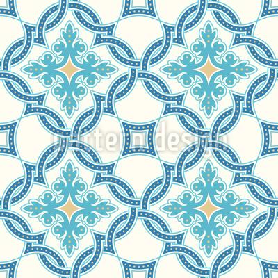Portugiesisches Fliesen Mosaik Vektor Design