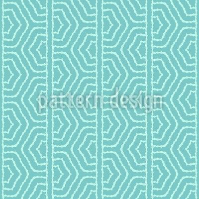 Schlängelnde Ogee Bordüre Vektor Muster
