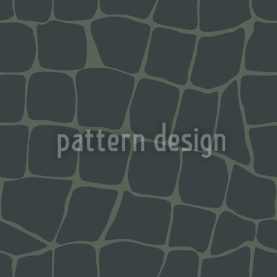 Crocodile Seamless Vector Pattern Design