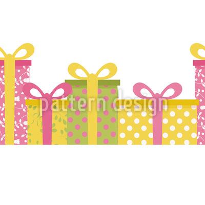 Geschenke Am Fließband Muster Design