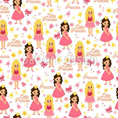 Freunde Der Prinzessin Vektor Muster