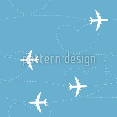 Flugzeugrouten Vektor Design